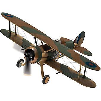 Gloster Gladiator Mk.II (N2308 HP-B RAF 1916) Diecast-mallilentokone
