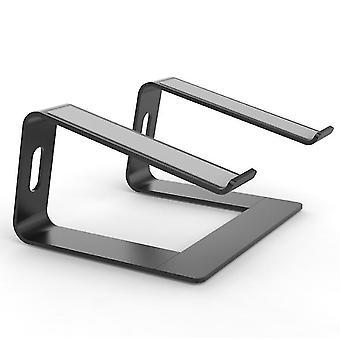 Tummanharmaa kannettavan tietokoneen jalusta - kannettavan tietokoneen nousuteline työpöydälle - alumiininen ergonominen kannettava tietokone holde x6547