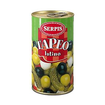 Sortiment av oliver och andra pickles serpis (150 g)