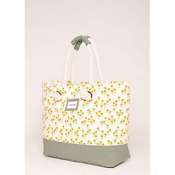 Brakeburn Garden Flower Beach Bag