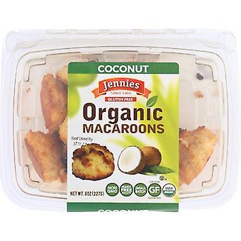 Jennies Macaroon Coconut Org, Case of 12 X 8 Oz