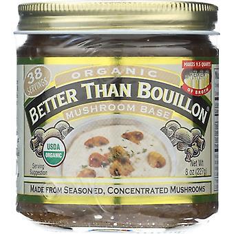Better Than Bouillon Base Mushroom Org, Case of 6 X 8 Oz