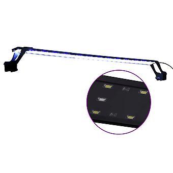vidaXL LED-Aquariumleuchte mit Klemmen 90-105 cm Blau und Weiß