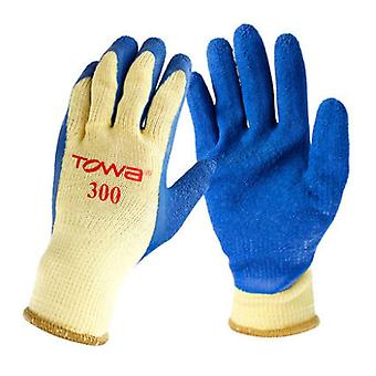 Latex Gloves Palm Coating Non Slip Cut Resistant Gloves For Woodcraft
