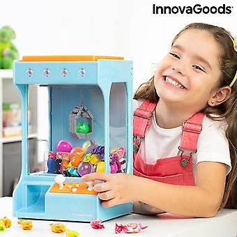 お菓子やおもちゃのための光と音を持つフェアグラウンドクローマシンサープライズイノバグッズ