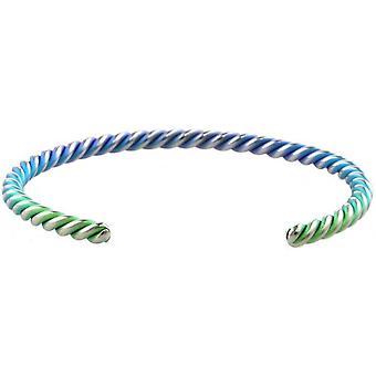 Pulseira de Bobina Colorida de Titânio Ti2 - Verde