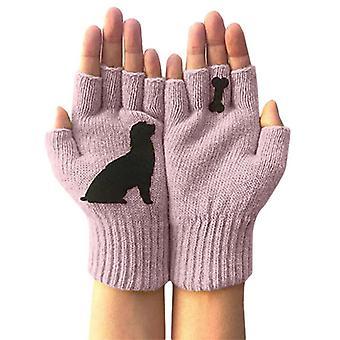 - Jag är inte så bra på det här. Unisex Hund Ben Lovely Tryckta Fingerless Handskar Utomhus Vinter Varma Vantar Nya