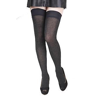 Hosiery soft hold ups containing silk socks