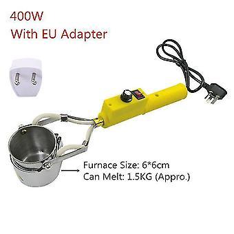300W 400w 500w elétrico ajustável placa de derretimento placa de fundição cabeças chumbo lata de derretimento