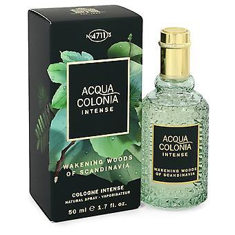 4711 Acqua Colonia Wakening Woods of Scandinavia af 4711 Eau De Cologne Intense Spray (Unisex) 1,7 ounce