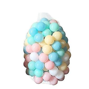 Soft Plastic Ocean Ball For Playpen Colorful Soft Sensory Toy