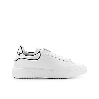 Philipp Plein Leather Runner Big Bang White Sneaker