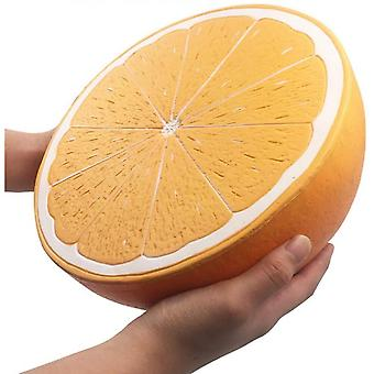 10 Inches Large Slow Rebound Toy Orange Soft Cream Scent Simulating Squeeze Toys