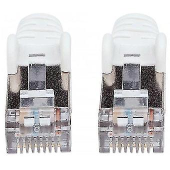 Telephone cables network patch cable cat7 cable/cat6a plugs 10m white copper s/ft 741415