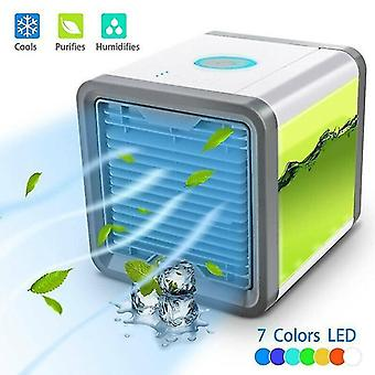 Air conditioners portable usb air conditioner cooler humidifier purifier cooling fans led