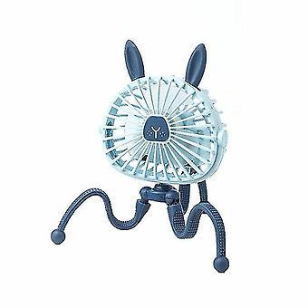 Mini verstelbare hangende elektrische ventilator octopus stand draagbare handheld usb opladen ventilator koeler voor