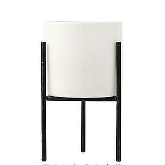 Modern modern keramikförvaring och arrangörsburkar (Black Shelf M)