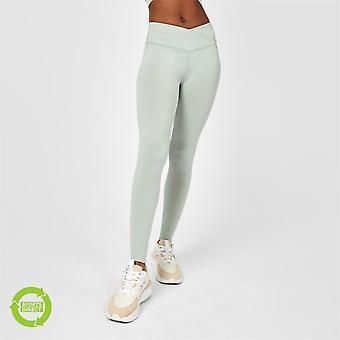USA Pro Womens x Steph Elswood Eco Cross Front Leggings Activewear Training