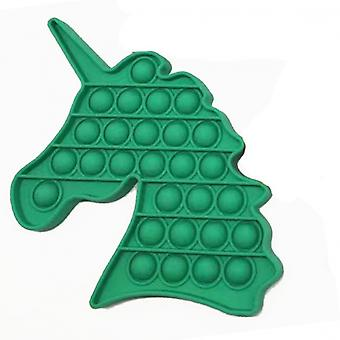 Silicone Sensory Squeeze Stress Reliever Autism Special Needs Educational Toys Special Needs Silent Classroom Green