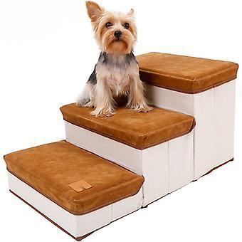 Escaliers pour chiens de compagnie de rangement pliables