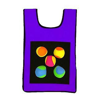 Enfants Sticky Jersey Vest 5 Pcs Sticky Lancer des balles