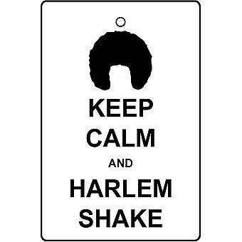 Сохранять спокойствие и Гарлеме Shake автомобилей освежитель воздуха