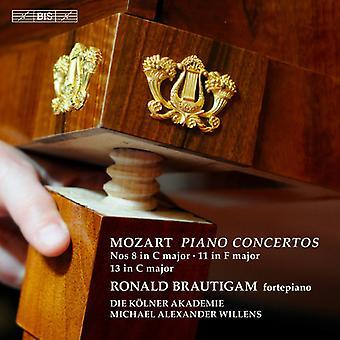 Mozart / Brautigam / Die Kolner Akademie / Willen - Piano Concertos Nos 8 & 11 & 13 [SACD] USA import