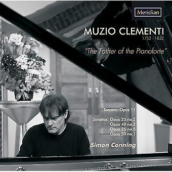 Clementi / ohjailemaan, Simon - isä Pianoforte [CD] USA tuonti