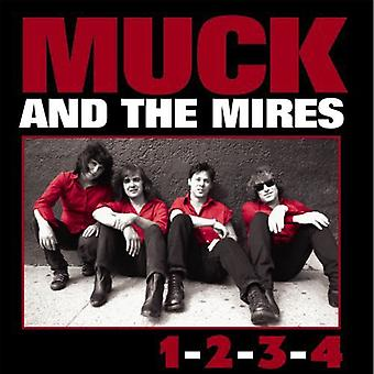 Much & the Mires - 1-2-3-4 [CD] USA import