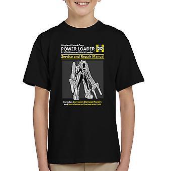 Vreemdelingen macht Loader Service en reparatie handleiding Kid's T-Shirt