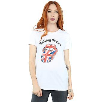 Balanceo Reino Unido lengua novio de piedras las mujeres Fit camiseta