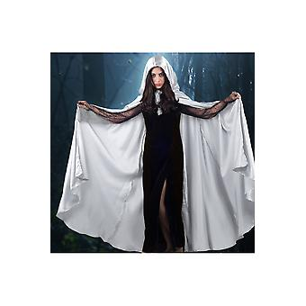 Capes Cape satin weiß