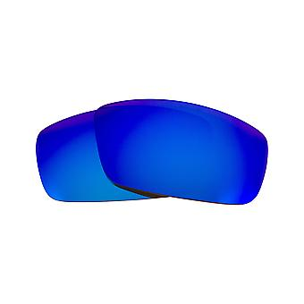SEEK Replacement Lenses Compatible for SPY OPTICS LOGAN Polarized Blue Mirror