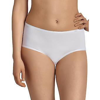Anita 1318-006 Women's Comfort White Cotton Full Külotlu Highwaist Kısa