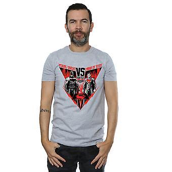 DC Comics Men's Batman v Superman T-Shirt bitwy