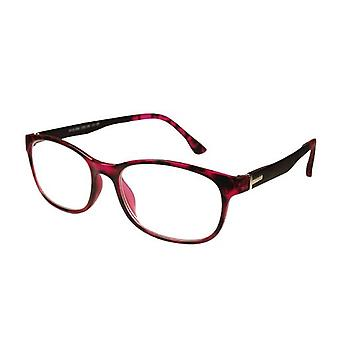 Optiali Reading Glasses +1.00 Delhi Red Color