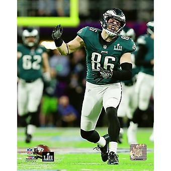 Zach Ertz Super Bowl LII Photo Print