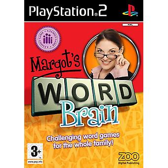 Margots Word Brain (PS2) (EFISP) - New Factory Sealed