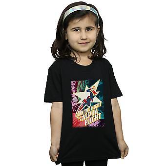 Marvel девочек капитан Marvel альфа полета футболку