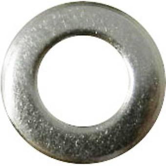 Arruelas 2,2 mm 5 mm aço inoxidável A2 100 pc(s) TOOLCRAFT A2,5 D125-A2 194691