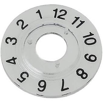 Mentor 331.205 nummerierte Zifferblatt Disc, 1-12