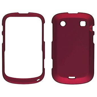 Ventev Soft Touch Snap-On Case for Blackberry Bold Touch 9930, 9900 - Red