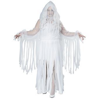 Spettrale spirito fantasma anima ritrovo fantasma Halloween Costume Womens Plus Size