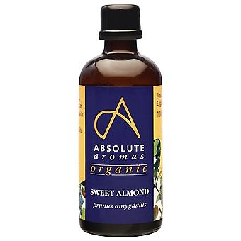 Absolute Aromas, Organic Almond Sweet Oil, 100ml