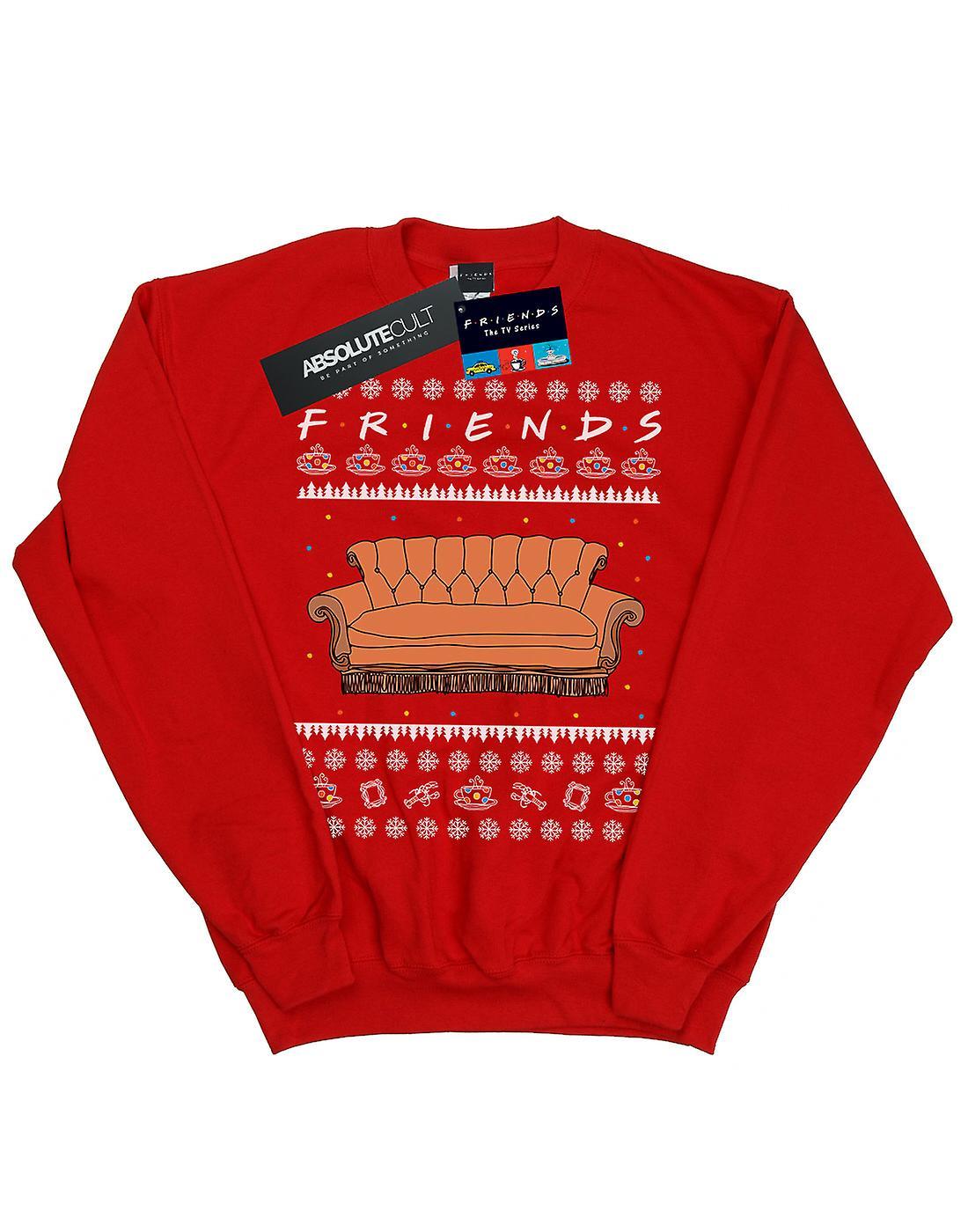 Friends Girls Fair Isle Couch Sweatshirt