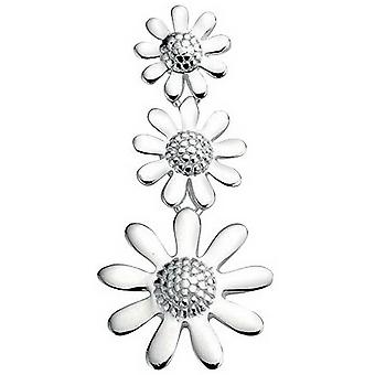 Principios Triple flor colgante - Plata