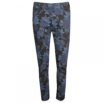 Laurie Jacquard Floral Printed Slim Jeans