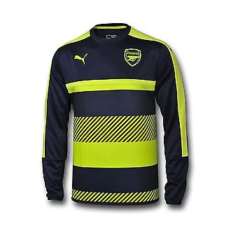 2016-2017 arsenal formation Puma Sweat Top (Peacot) - enfants