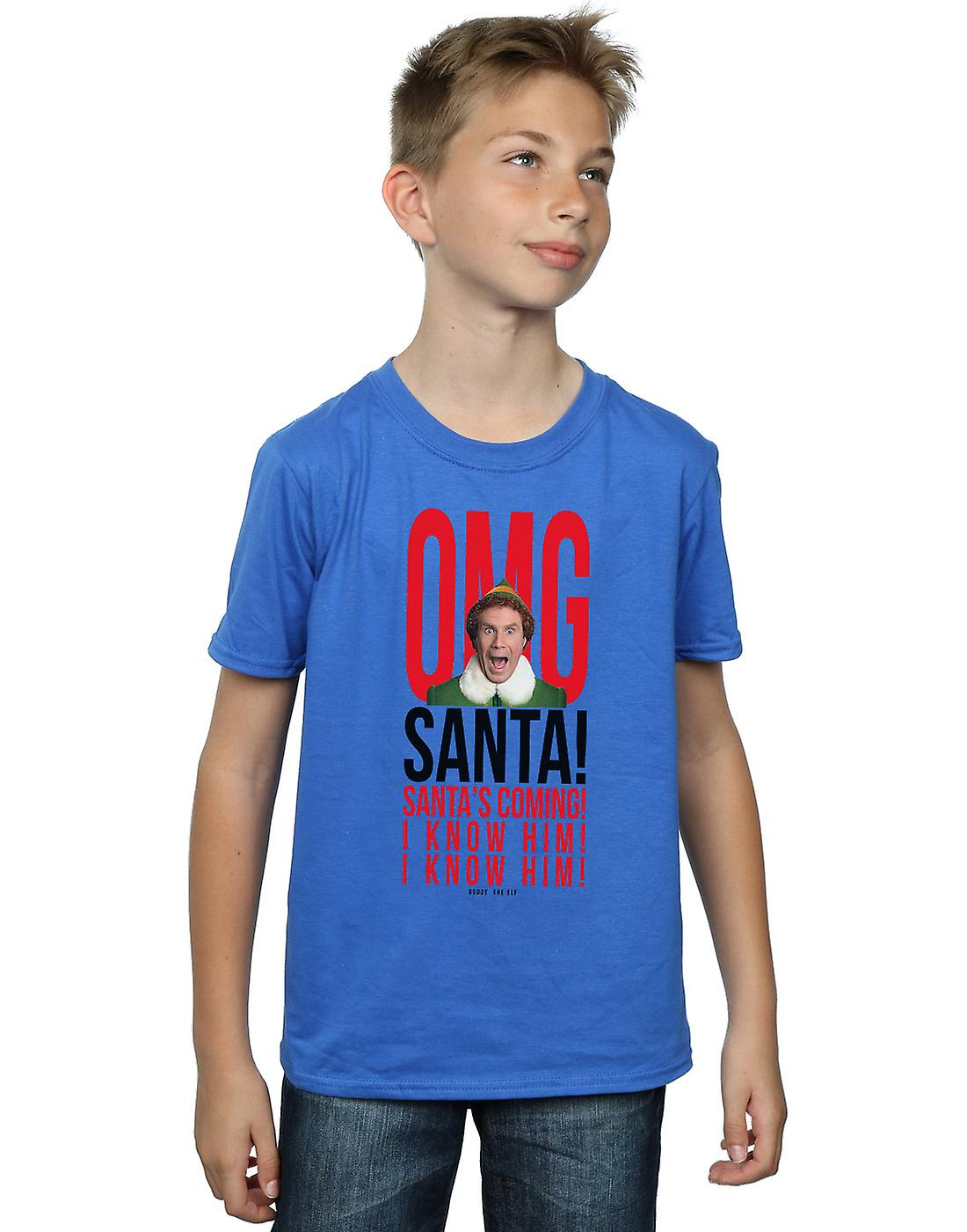 Elf Boys OMG Santa I Know Him T-Shirt