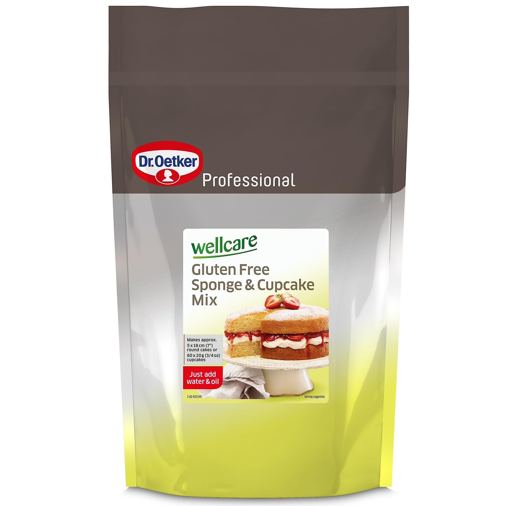 Dr Oetker Wellcare Gluten Free Sponge and Cupcake Mix